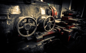 Картинка metal, gears, engine, valves