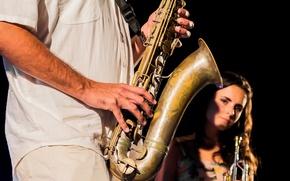 Картинка музыкант, Jazz, саксофон, Saxo
