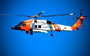 Картинка вертолет, HH-60 Jayhawk, united states coast guard, береговая охрана