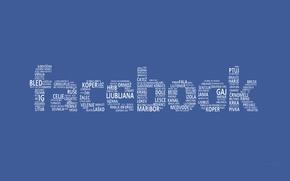 Картинка белый, синий, текст, буквы, text, Facebook, Фэйсбук