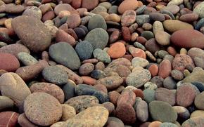 Обои мозаика, камни, пейзажи