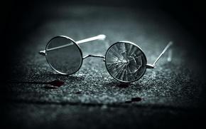 Картинка кровь, chapter-27, разбитые очки, глава 27