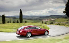 Картинка Mercedes, 2013, Benz-CLS
