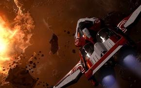 Картинка Star Citizen, space ship, Origin M50