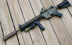 Картинка доски, автомат, штурмовая винтовка, STAG-15
