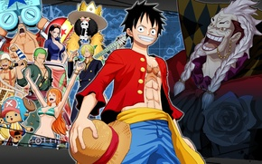 Картинка игра, аниме, ONE PIECE Unlimited World Red