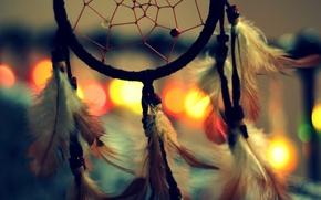Картинка перья, талисман, амулет, Dreamcatcher, ловец снов