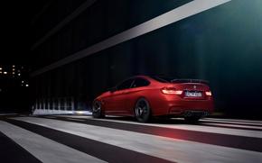 Картинка BMW, German, Orange, Car, Sport, Rear, Ligth, AC-Schnitzer