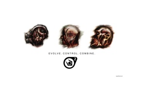 Обои evolve, Half-Life, control, combine