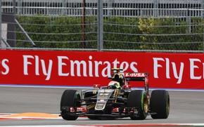 Картинка Lotus, Formula 1, Pastor Maldonado, E23