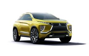 Обои мицубиси, Concept, кроссовер, концепт, Mitsubishi