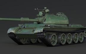 Картинка China, Render, Tank, WoT, 121