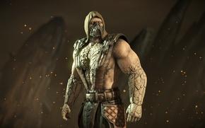 Картинка маска, боец, ninja, Tremor, Mortal Kombat X