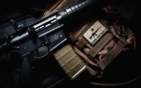 Картинка макро, оружие, фон