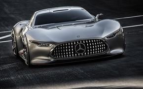 Обои AMG, Mercedes-Benz, Concept, Vision, Gran Turismo