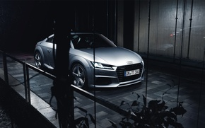 Картинка Audi, Car, Silver, Automotive, Sline