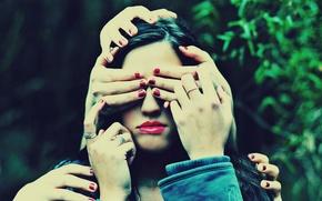 Картинка девушка, ситуация, руки