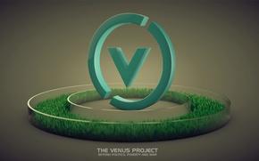 Картинка логотип, лого, войн, The Venus Project, Фреско, нищеты, Jaque Fresco, Жак, Проект Венера, мир без …