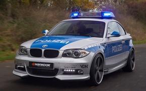 Обои авто, полиция, BMW