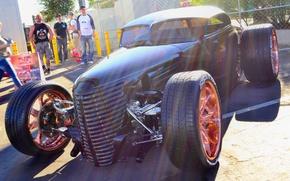 Обои Hot Rod, колёса, Хот-род