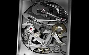 Обои Часы, Нож, Гитара, Элементы, Девушка, Механизм