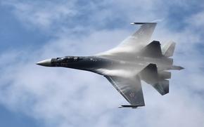Картинка Су-35, Су-35С, Сухой, jet, Su-35S