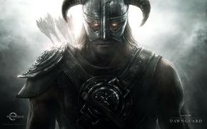 Картинка воин, вампир, стрелы, Skyrim, Dawnguard, The elder scrolls