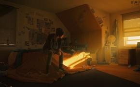 Картинка девушка, комната, игра, Room, Chloe, Life is strange