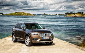 Обои XC90, Inscription, вольво, Volvo, 2015