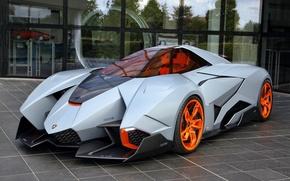 Обои Car, Concept, Egoista, Lamborghini