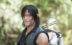 Картинка сериал, The Walking Dead, Ходячие мертвецы, Norman Reedus, Daryl Dixon