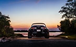 Картинка фонари, Toyota, Supra, корма, Charles Siritho