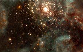 Картинка туманность, вселенная, тайна, созвездие