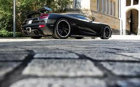 Картинка тюнинг, Koenigsegg, black, Agera r