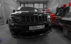 Картинка car, srt, black, cars, srt8, jeep, dmitrybimmer, proservice