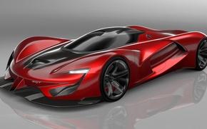 Картинка Concept, Red, Vision, Gran Turismo, SuperCar, SRT Tomahawk