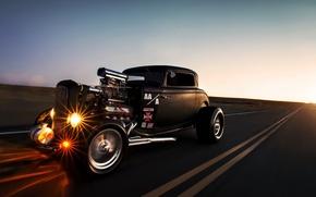 Картинка car, ford, hot rod, lunchbox photoworks