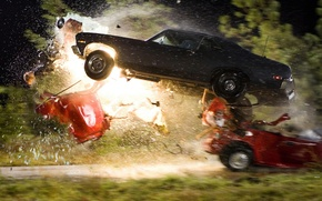 Картинка авария, столкновение, Тарантино, death proof, Доказательство смерти