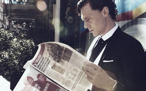 Картинка фото, актер, Tom Hiddleston, Photoshoot