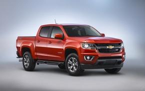 Картинка Chevrolet, шевроле, колорадо, Colorado, Diesel, Crew Cab, Z71, 2015, Duramax