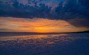 Картинка USA, США, Utah, Штат Юта, Great Salt Lake, Большое Солёное озеро