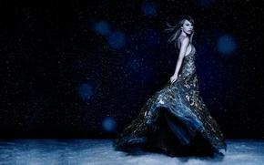 Картинка снег, платье, Taylor Swift, Тейлор Свифт, Cosmopolitan