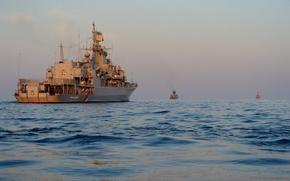 Картинка ВМФ, учения, фрегат, украина, гетман сагайдачный