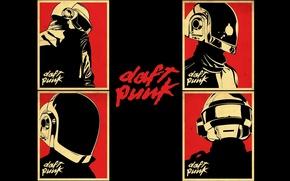 Картинка музыка, music, плакат, Daft Punk, постер