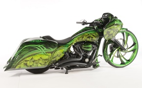 Картинка дизайн, стиль, фон, мотоцикл, форма, аэрография, байк