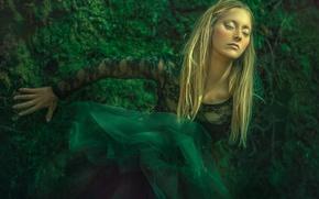 Картинка девушка, фантазия, арт, Dream, Agnieszka Lorek