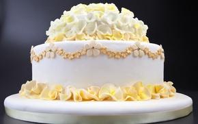 Картинка праздник, свадьба, свадебный торт