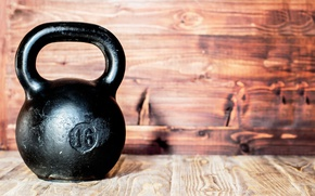 Картинка metal, wall, gym, crossfit, kettlebell