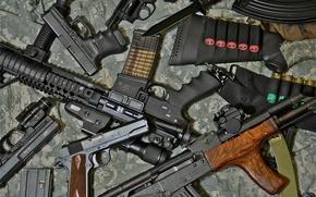Картинка оружие, пистолеты, автомат, винтовка, штурмовая
