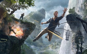 Картинка Game, Naughty Dog, Натан Дрейк, Uncharted 4: A Thief's End